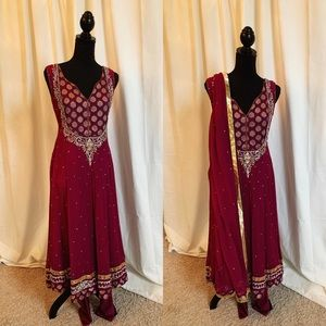 Dresses & Skirts - Purple Indian Outfit